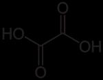 โครงสร้างโมเลกุลออกซาลิก